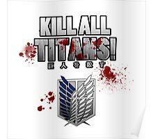Kill All Titans! Poster