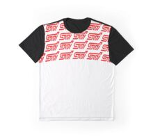 WRX STI ARCH  RED Graphic T-Shirt