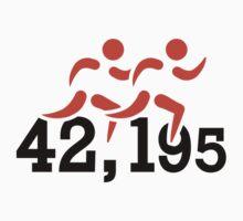 Marathon 42,195 kilomter by Designzz