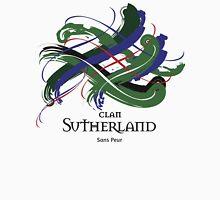 Clan Sutherland - Prefer your gift on Black/White tell us at info@tangledtartan.com  Unisex T-Shirt