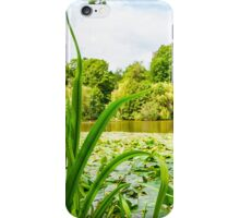 lake overgrown with water lilies iPhone Case/Skin