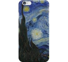 Vincent Van Gogh - Starry Night,  Impressionism .Starry Night, 1889 iPhone Case/Skin