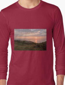 Sunrise past Culver Downs Long Sleeve T-Shirt