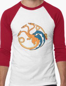 House Charizard Men's Baseball ¾ T-Shirt