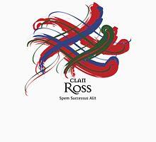 Clan Ross - Prefer your gift on Black/White tell us at info@tangledtartan.com  Unisex T-Shirt