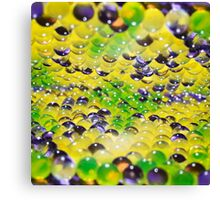 abstract background of colored balls Canvas Print