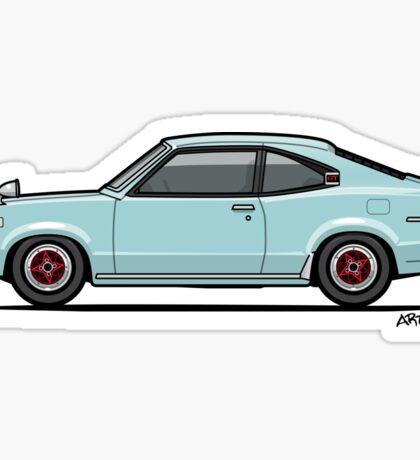 Mazda Savanna GT RX-3 Baby Blue Sticker