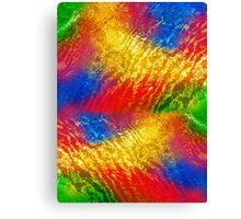 abstract background with colored spots Canvas Print