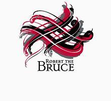 Robert the Bruce - Prefer your gift on Black/White tell us at info@tangledtartan.com   Unisex T-Shirt