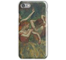 Edgar Degas - Four Dancers ( 1899) Impressionism  ballerina dancer iPhone Case/Skin
