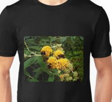 Bees and Buddleia Unisex T-Shirt