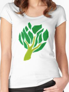 Amity Baum Women's Fitted Scoop T-Shirt
