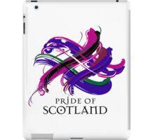 Pride of Scotland - Prefer your gift on Black/White tell us at info@tangledtartan.com  iPad Case/Skin