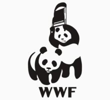 WWF Panda Wrestling by lollydavis