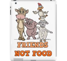 Animals. Our friends, not food iPad Case/Skin