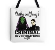 Vastra and Jenny's Criminal Investigations Tote Bag