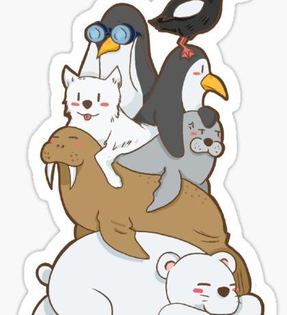 ARCTIC ANIMAL Sticker