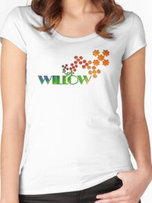 The Name Game - Willow Women's Fitted Scoop T-Shirt