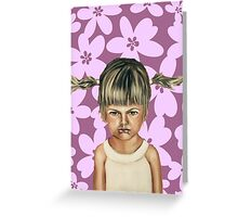 Scarlett  Greeting Card