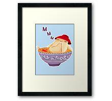 Relaxed Radish Spirit Soup Framed Print