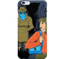 Somebody is following me iPhone Case/Skin