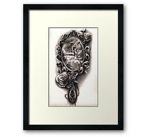 Victorian Mirror Framed Print