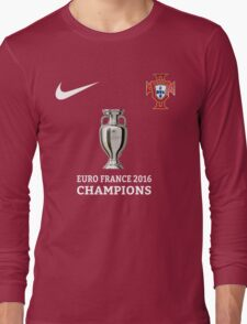 Portugal Jersey Champions Long Sleeve T-Shirt