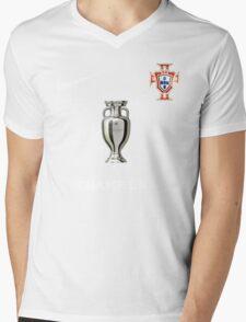 Portugal Jersey Champions Mens V-Neck T-Shirt
