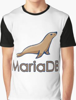 mariadb maria database programming  Graphic T-Shirt