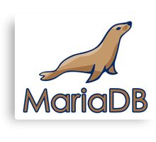 mariadb maria database programming  Canvas Print
