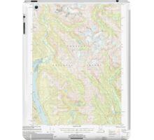 USGS TOPO Map Alaska AK Bradfield Canal B-6 363644 2000 63360 iPad Case/Skin