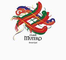 Clan Munro - Prefer your gift on Black/White tell us at info@tangledtartan.com  Unisex T-Shirt