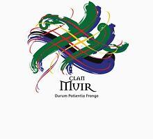 Clan Muir -Prefer your gift on Black/White tell us at info@tangledtartan.com   Unisex T-Shirt