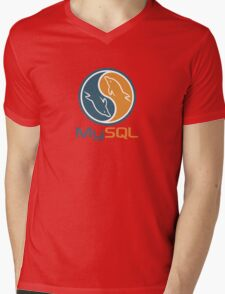 mysql database programming design Mens V-Neck T-Shirt