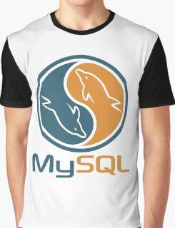 mysql database programming design Graphic T-Shirt
