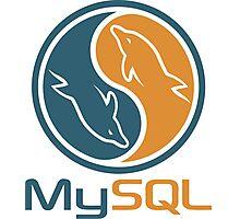 mysql database programming design Photographic Print