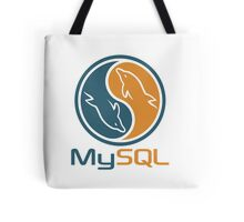 mysql database programming design Tote Bag