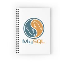 mysql database programming design Spiral Notebook