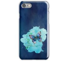 Watercolour Butterfly 01 iPhone Case/Skin