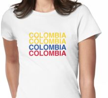 COLOMBIA Womens Fitted T-Shirt