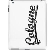 Cologne Classic Vintage (Schwarz) iPad Case/Skin