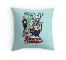 Adventure Time-Lord Generation 12 Throw Pillow