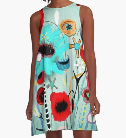 You don't have to be alone.  A-Line Dress