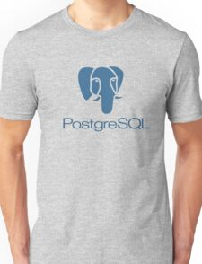 postgresql database programming language Unisex T-Shirt
