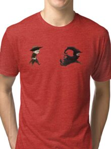 The man in black fled across the desert... Tri-blend T-Shirt