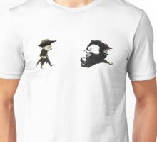 The man in black fled across the desert... Unisex T-Shirt