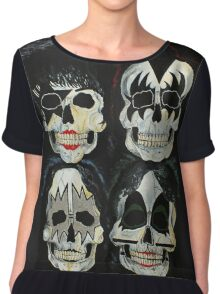 Killer Kiss  Chiffon Top