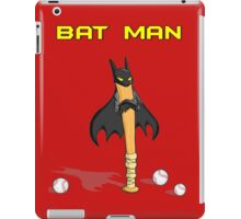 Angry Bat Man iPad Case/Skin
