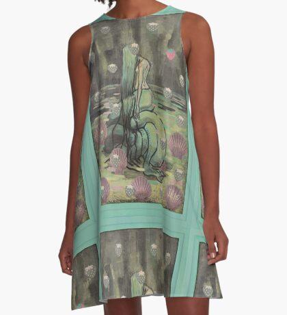 Unhappy Mermaid A-Line Dress