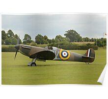 ARC Supermarine Spitfire Mk1A (N3200) Poster